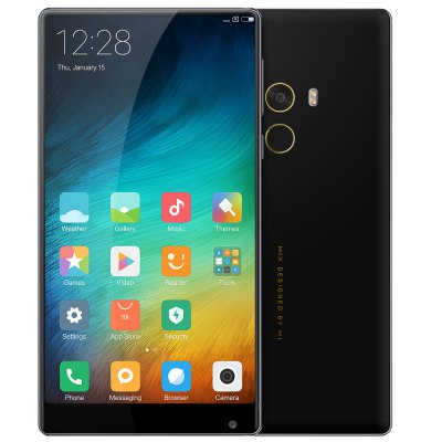 Xiaomi Mi MIX Ultimate Edgeless Design 18K Gold MIUI 8 Snapdragon 821 - HK WAREHOUSE 6GB RAM 256GB ROM