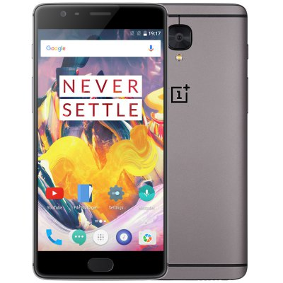 gearbest OnePlus 3T Snapdragon 821 MSM8996 Pro 2.35GHz 4コア GRAY(グレイ)