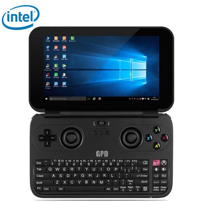 gearbest GPD WIN Atom Cherry Trail x7-Z8700 1.6GHz 4コア,Atom Cherry Trail x7-Z8750 1.6GHz 4コア BLACK(ブラック)