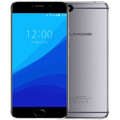 UMIDIGI C NOTE 4G Phablet Android 7.0 Fast Touch ID 13.0MP Rear Camera