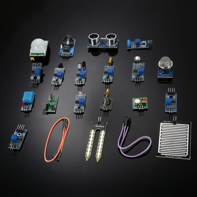 Sensor Module Kit For Raspberry Pi 3B / 2B / B+
