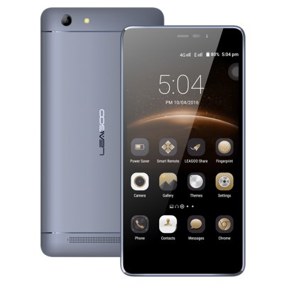Leagoo Shark 5000 Android 6.0 8.0MP + 13.0MP Cameras 5000mAh Battery 3G Phablet