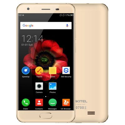 OUKITEL K4000 Plus Android 6.0 MTK6737 Quad Core 1.3GHz 2GB RAM 16GB ROM Front Touch Sensor 4100mAh Battery 4G Smartphone