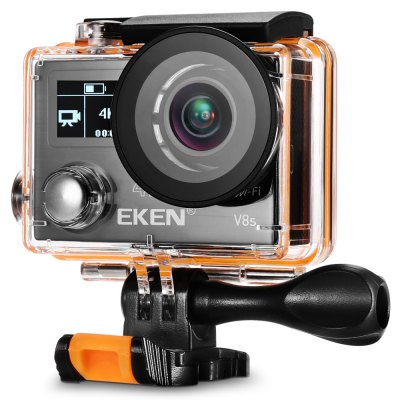 Gearbest EKEN V8s 4K WiFi Action Sports Camera with 2.4G Remote Controller