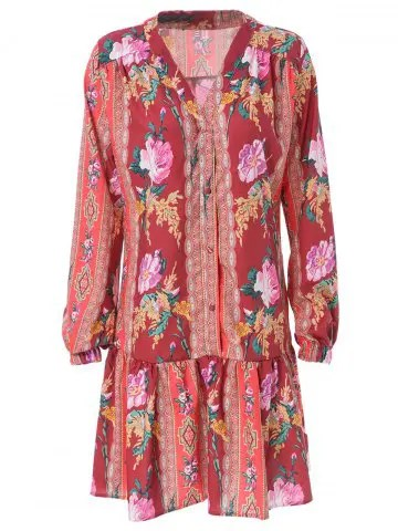 Risultati immagini per https://www.rosegal.com/bohemian-dresses/stylish-v-neck-long-sleeve-1152136.html