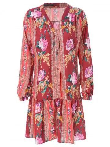Risultati immagini per https://www.rosegal.com/bohemian-dresses/stylish-v-neck-long-sleeve-1152136.html
