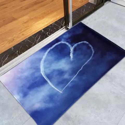 Memory Home Custom Conch S Starfish Printed Doormat Decor Floor Mat For Living Room Anti