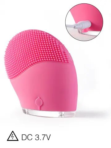 Best Silicone Recharge Massage Face Cleanser Brush Device TUTTI FRUTTI