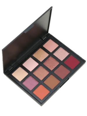 Chic 12 Colors Earth Tone Shimmer Eyeshadow Cosmetic Palette MULTI