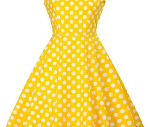 Vintage Polka Dot Skater Dress