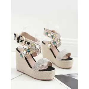 Risultati immagini per https://www.rosegal.com/sandals/cross-buckle-strap-wedge-heel-sandals-2239818.html
