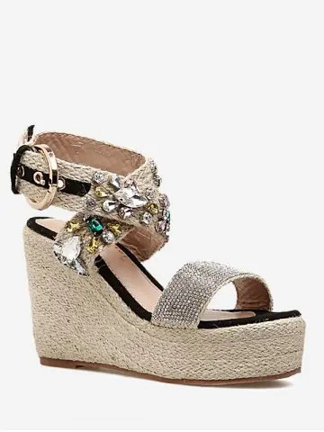 Risultati immagini per https://www.rosegal.com/sandals/cross-buckle-strap-wedge-heel-sandals-2239818.html