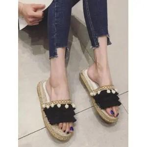 Risultati immagini per https://www.rosegal.com/slipper/studded-stitches-espadrille-pompom-fringes-slides-2261901.html