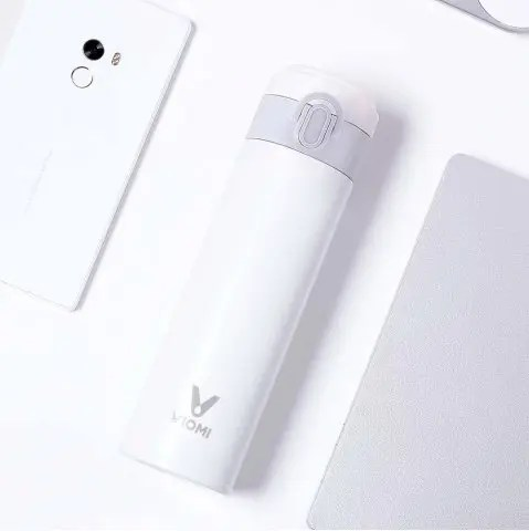 Outfits Mijia VIOMI Stainless Steel Vacuum Portable 300ml Thermos