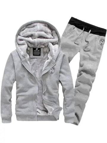 Hooded Long Sleeve Hoodie and Pants Twinset