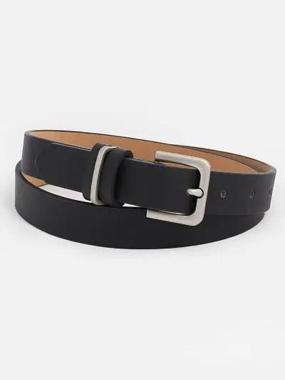 Artificial Leather Metal Buckle Belt