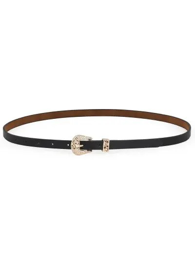 PU Stylish Adjustable Waist Belt