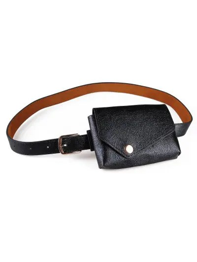 Simple Style Fanny Pack Belt