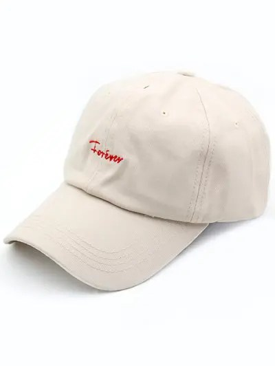 Forever Pattern Embroidered Baseball Hat