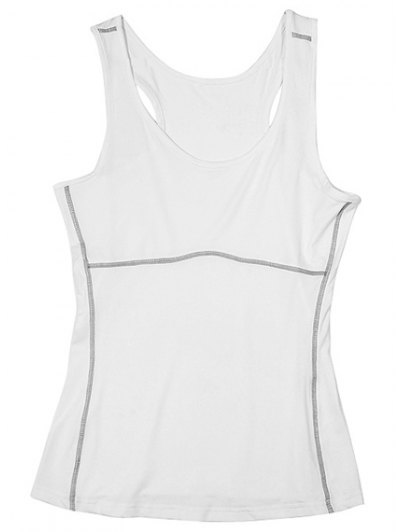U Neck Stretchy Yoga Tank Top For Women