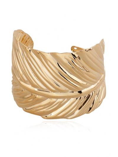 Leaf Shape Cuff Bracelet