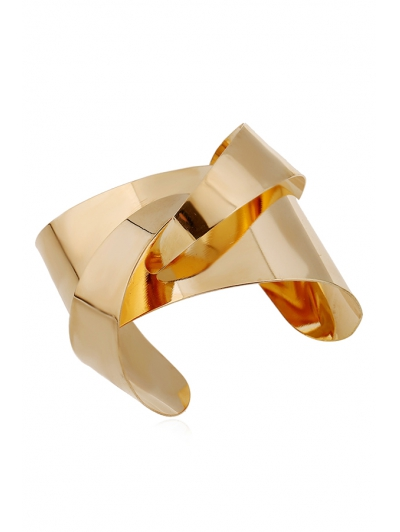 Mirror Side Characteristic Cuff Bracelet