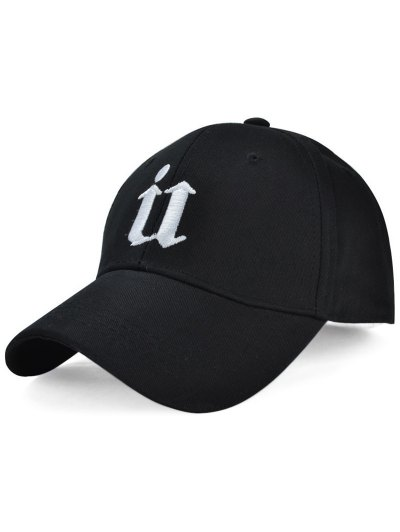 Letter U Embroideried Baseball Hat