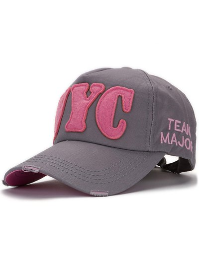Applique Baseball Hat
