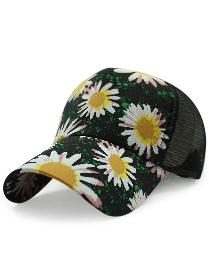 Chrysanthemum Baseball Hat