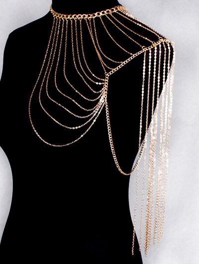 Vintage Hollow Out Body Chain