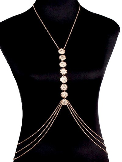 Stunning Sequins Body Chain