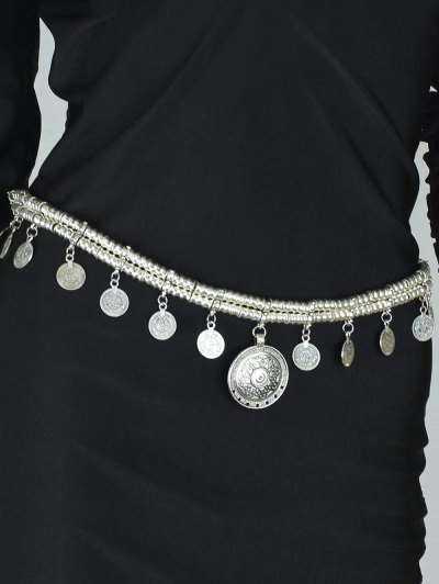 Vintage Coins Belly Chain
