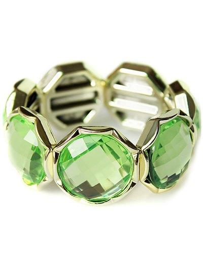 Faux Crystal Bracelet