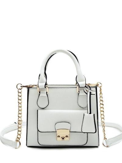 PU Leather Tote Bag