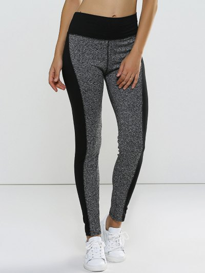 Color Block High Waisted Sporty Leggings