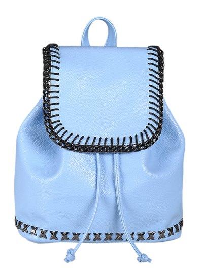 Magnetic Closure String Backpack