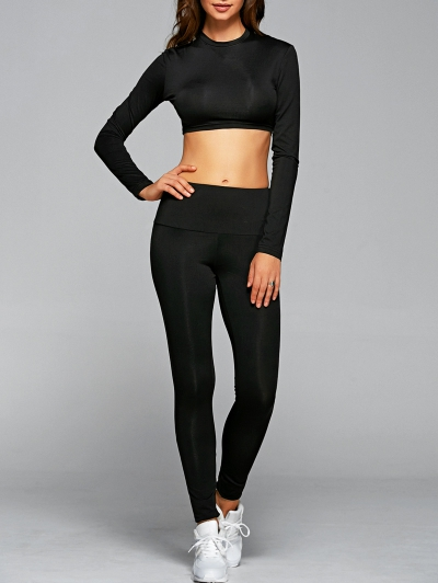 T Shirt With Leggings Gym Outfits