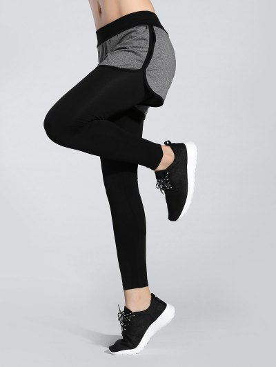 Contrast Trim Leggings