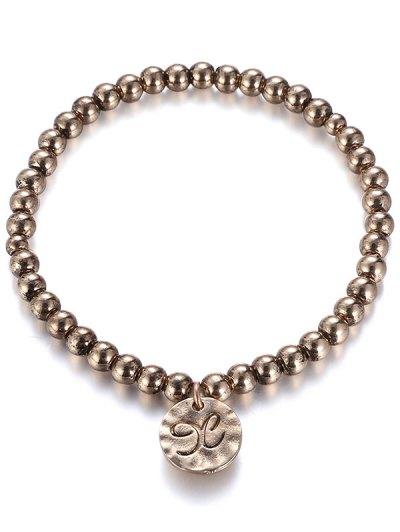 Alloy Bead Bracelet