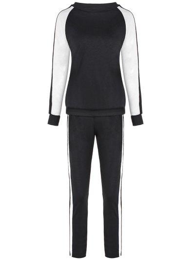 Raglan Sleeve Sweatshirt and Sport Pants