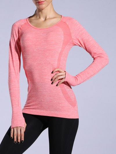 Heathered Dry Quick Sporty T Shirt