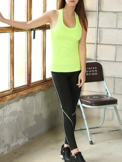 Skinny Tank Top and Stretchy Gym Pants