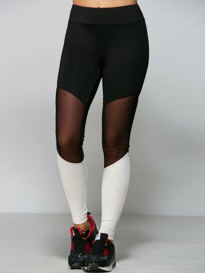 Mesh Yarn Yoga Leggings