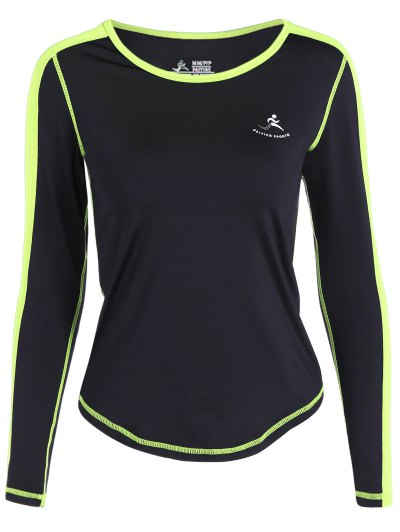 Fit Neon Color Pullover T Shirt