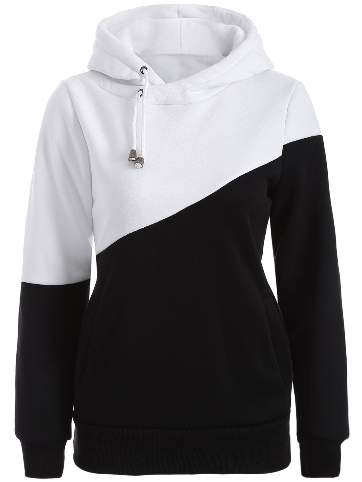 Sports Color Block Hoodie