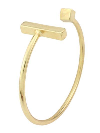 Vintage Alloy Geometric Embellished Cuff Bracelet