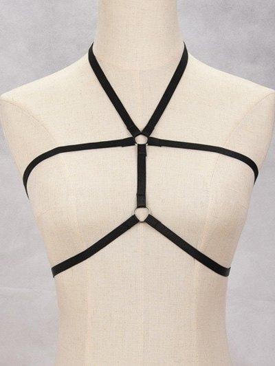 Layered Harness Bra Bondage Body Jewelry