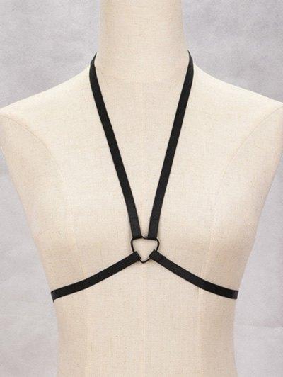 Heart Harness Bra Bondage Body Jewelry