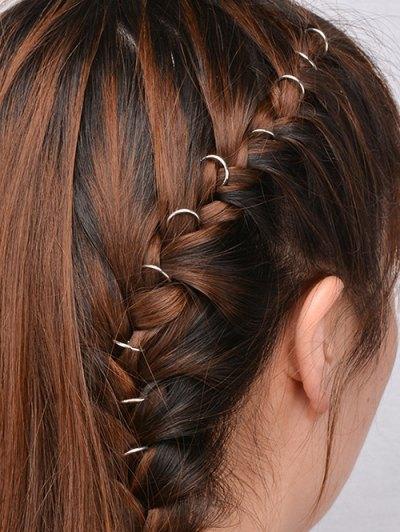 10 PCS Circle Hair Accessories