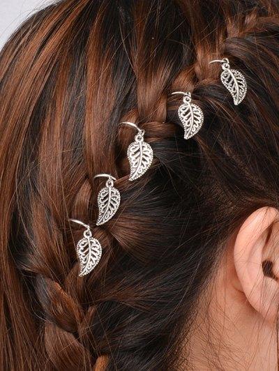 5 PCS Leaves Hair Accessory